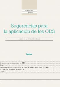Aplicación de los ODS