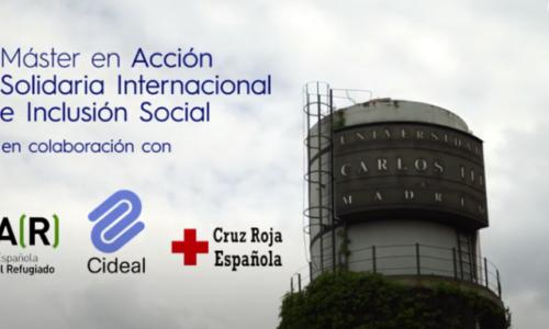 Abierto el plazo de matriculación para el Máster en Acción Solidaria Internacional y de Inclusión Social