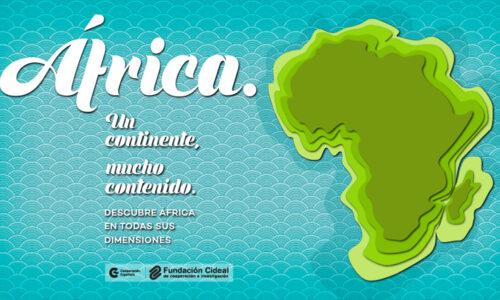 """CIDEAL lanza la campaña """"África. Un continente, mucho contenido"""""""