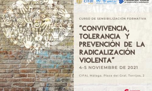 Curso de sensibilización sobre convivencia, tolerancia y prevención de la radicalización violenta